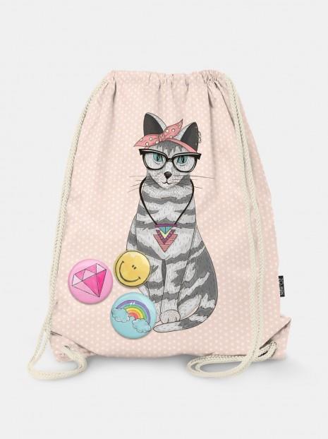 Worek Hipster Cat