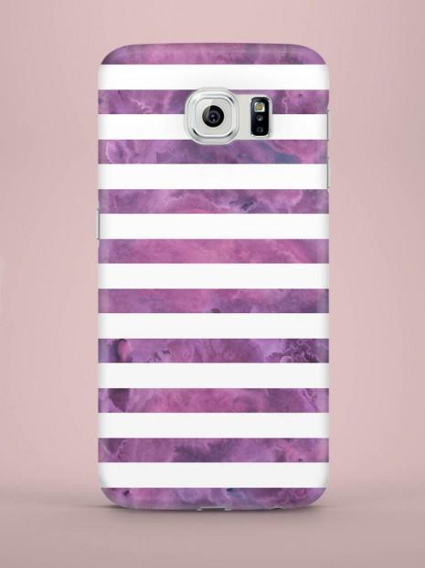Purple strited Case